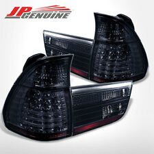 SMOKE LENS / CHROME HOUSING LED TAIL LIGHTS - BMW E53 X5 2000-2006
