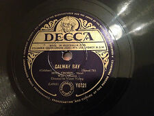 "BING CROSBY ""Galway Bay""/ ""My Girl's An Irish Girl"" 78rpm 10"" 1949  Y6121  VG"