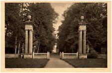RHEINSBERG um 1920 Partie am Schloss Schloss-Portal alte Postkarte Ansichtskarte