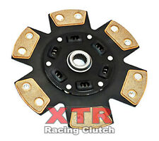 XTR 6-PUCK STAGE 3 CERAMIC CLUTCH DISC TOYOTA PICKUP 4RUNNER 2.4L 22R 22RE 2&4WD
