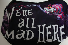 Disney Alice in Wonderland Cheshire Cat Hobo Shoulder Tote Bag Purse NWT