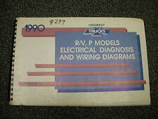 1990 Chevy Truck R/V, P Electrical Diagnosis & Wiring Diagrams ST-350-90 EDD
