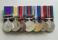 Court Mounted Full Size Medals, GSM NI, Iraq, Bosnia, Afghanistan, Jubilee, ACSM