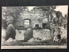Vintage Postcard - Isle Of Wight #A14- RP Carisbrooke Castle King Charles Window