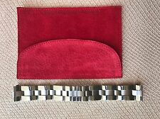 Cartier Roadster 19mm Stainless Steel Bracelet 100% Authentic