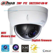 Dahua SD22204T-GN-W 2MP HD Wifi Outdoor 4X ZOOM Network Mini Dome Camera PTZ