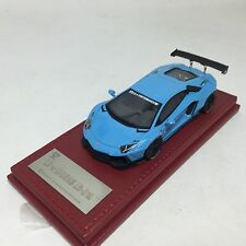 1/43 Hi-Story LB WORKS Lamborghini Aventador Lp700-4 Light Blue