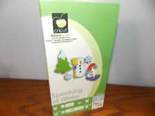 Cricut Speaking of Winter Font Alphabet Snowman Cartridge Gently Used L317