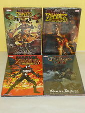 4 MARVEL ZOMBIES HC SET - Supreme DESTROY! Christmas Carol COVERS - Sealed / New