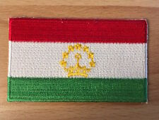 TAJIKISTAN Country Flag Embroidered PATCH