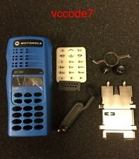 Motorola HT1250 Full keypad refurb housing complete in (BLUE)