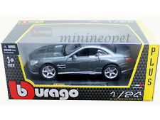 BBURAGO 18-21067 MERCEDES BENZ SL 500 HARD TOP 1/24 DIECAST GREY