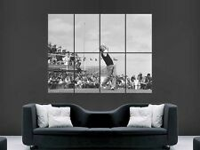 JACK NICKLAUS POSTER  GOLF LEGEND BLACK AND WHITE CLASSIC SPORT ICON PRINT