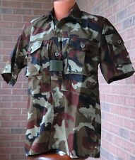 Arktis A712 Short Sleeve Hot Climate Shirt MEDIUM Irish Ranger Camo CCW SAS