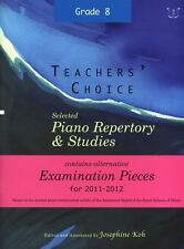 Profesores' Choice: Selected Piano Repertorio & estudios 2011-2012 (grade 8)