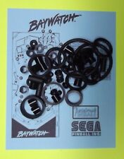 1995 Sega Baywatch pinball rubber ring kit