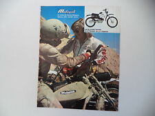 advertising Pubblicità 1976 MOTO MALAGUTI CAVALCONE 50 5 MARCE