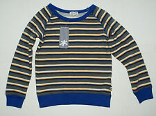 Splendid Kids Little Boys Stripe Active Pullover Sweat Shirt Charcoal 4 - 5 NWT