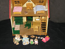 Calico Critters  Dollhouse Furniture Figures Accessories Huge Toy Lot #2
