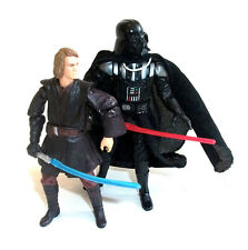 "STAR WARS ANAKIN SKYWALKER - DARTH VADER 3.75"" toy figure set lot"