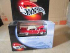 1957 CADILLAC ELDORADO convertible Hot Wheels 100% Black Box RED limited ed cool