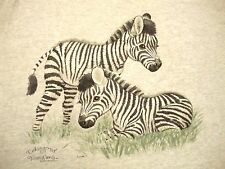"Endangered Youngins Young'uns Little Baby Zebras Cute T Shirt ""One Size"" / 2XL"