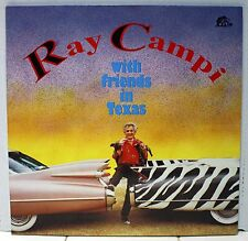 Rare Rockabilly LP - Ray Campi With Friends in Texas - Out Of Print - # BFX15258