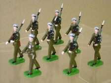 DUCAL SOLDIERS ROYAL ARMY AIR CORPS MARCHING x 8 of