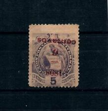 Guatemala 1898 Sc#77 Inverted Overprint Considered Counterfeit Rare