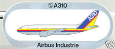 Baggage Label - Airbus - A310 - House - Rainbow Livery Fuselage Sticker (BL441)