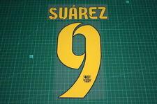 Flocage SUAREZ pour maillot BARCELONE patch football Barcelona shirt ref9/1