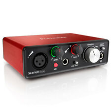 Focusrite Scarlett Solo 2nd Gen Recording Studio Interface + Pro Tools First