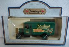 LLEDO DAYS GONE HAMLEY BROTHERS MORRIS LIGHT TRUCK GREEN DIECAST BOXED
