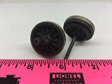 Lionel Parts ~ Center gear hub steel rim wheel with axle