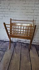 Vintage Retro Mid Century Magazine Rack Holder Wooden Cees Braakman G PLAN ERCOL