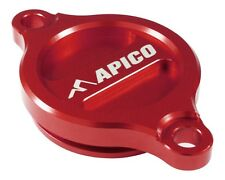 Apico Oil Filter Cover SUZUKI RM2Z50 07-15 RMZ450 05-15 RED