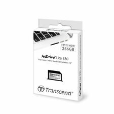 "Transcend 256GB JetDrive Lite 330 Storage Expansion Card 13"" MacBook Pro Retina"