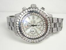 BREITLING SUPER AVENGER AUTOMATIC CHRONOGRAPH WATCH OVER 26 CARATS DIAMONDS