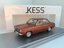 Kess Model 1/43 Ford escort MkI 1100Xl Rhd 4-door 1973 Bronze Art. KE43015011