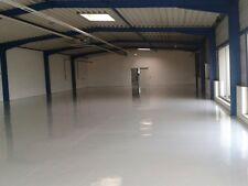 Bodenbeschichtung, Bodenfarbe Beschichtung 2K Bodenversiegelung 50m².ral 7001