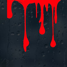 Blood Drips Car Graphic Decal Vinyl Adhesive Sticker