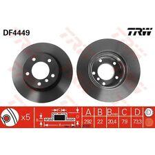 Bremsscheibe, 1 Stück TRW DF4449