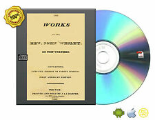 The works of James Arminius, John Wesley, Flavius Josephus eBooks On DVDROM