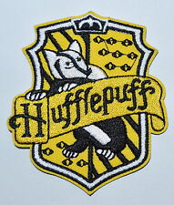 Harry Potter House HUFFLEPUFF embroidered Iron on Patch Crest Badge