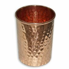 Ayurveda 100% Pure Copper Tumbler / Drinking Cup For Great Health And Diet
