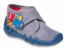 BEFADO boys canvas shoes nursery slippers trainers NEW size 6.5UK!