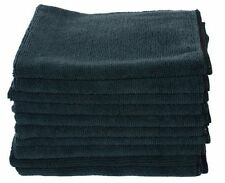 10 Pk Black Large Microfiber Home Car Valeting Dusters Polishing Cleaning Cloths