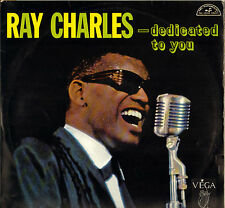"""RAY CHARLES """"DEDICATED TO YOU"""" POP SOUL JAZZ 60'S LP ABC 355"""