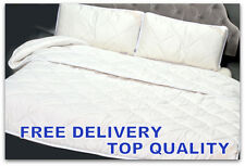SET Merino Wool DUO Duvet /Quilt  King Size + 2 PILLOWS All Tog`s + UNDERBLANKET