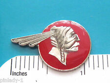 PONTIAC INDIAN HEAD - hat pin , hatpin , lapel pin , tie tac GIFT BOXED
